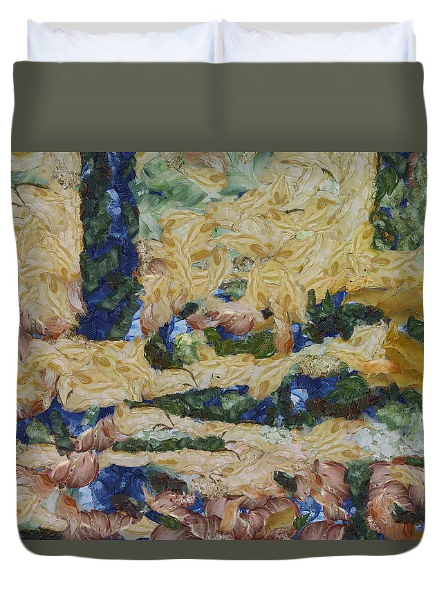 Water Duvet Cover featuring the photograph Water And River Delta by Ashish Agarwal