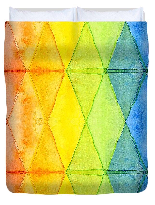 Geometric Duvet Covers