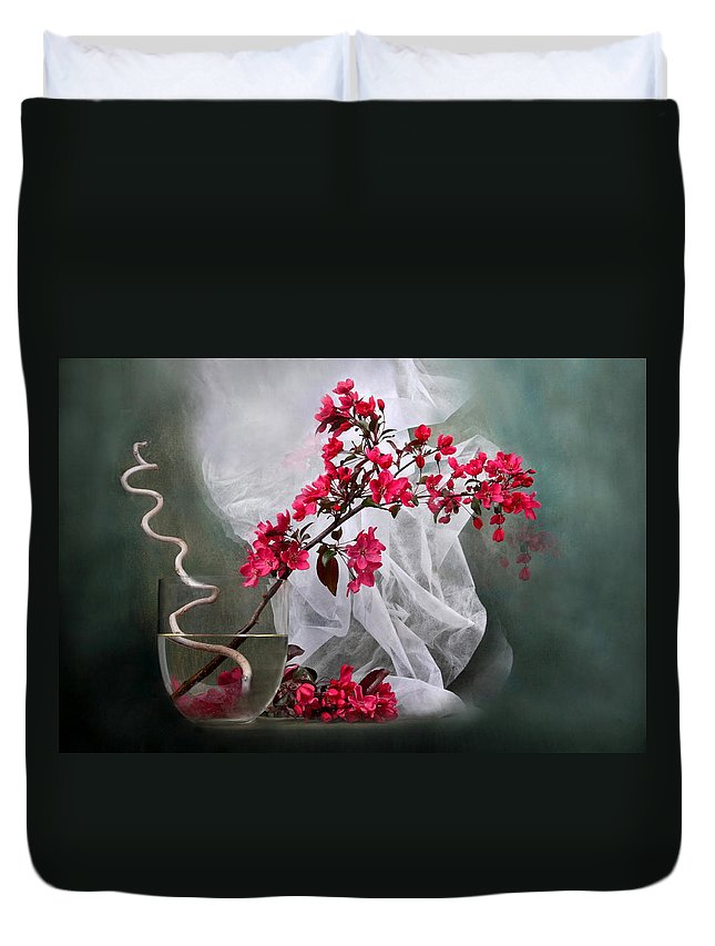 Wedding Duvet Cover featuring the photograph Wedding by Manfred Lutzius
