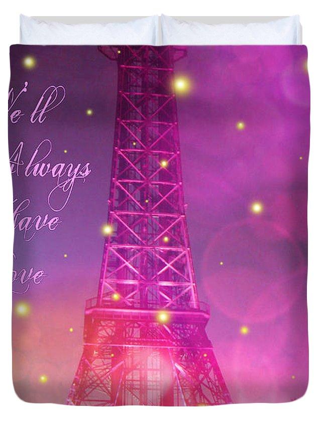 We Ll Always Have Love Duvet Cover For Sale By Jennifer