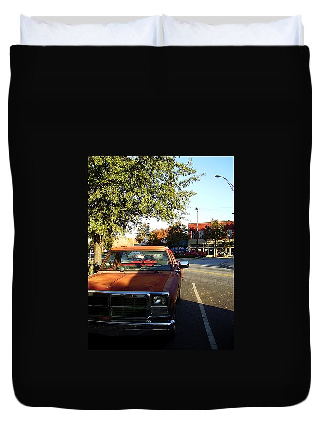 West End Duvet Cover featuring the photograph West End by Flavia Westerwelle
