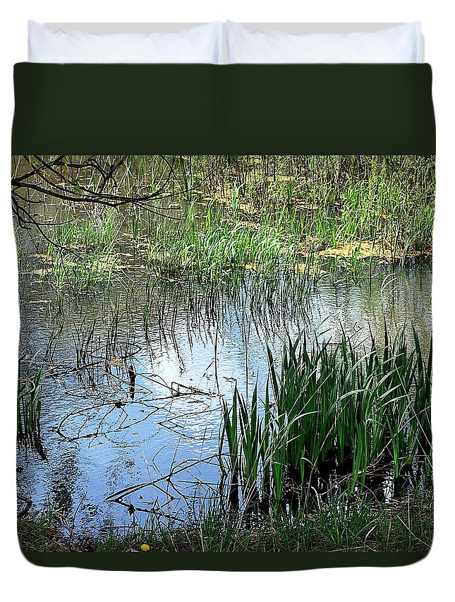 Cleveland Metroparks Duvet Cover featuring the photograph Westcreek Reservation 4 by James Richmond
