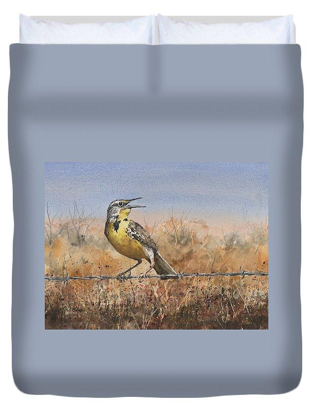 Meadowlark Duvet Covers