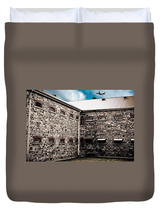 Freedom Duvet Cover featuring the photograph What Freedom Means by Kelly King