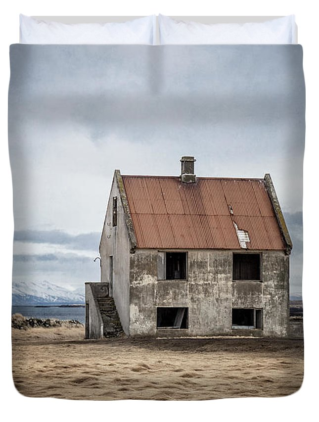 Kremsdorf Duvet Cover featuring the photograph What Once Was by Evelina Kremsdorf