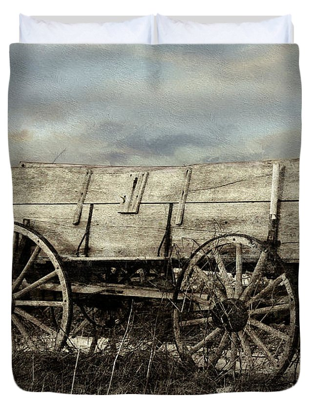 Theresa Campbell Duvet Cover featuring the photograph What Was Once Needed by Theresa Campbell