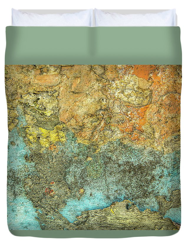 Abstract Duvet Cover featuring the photograph What You See Is What It Is by Isabella Biava