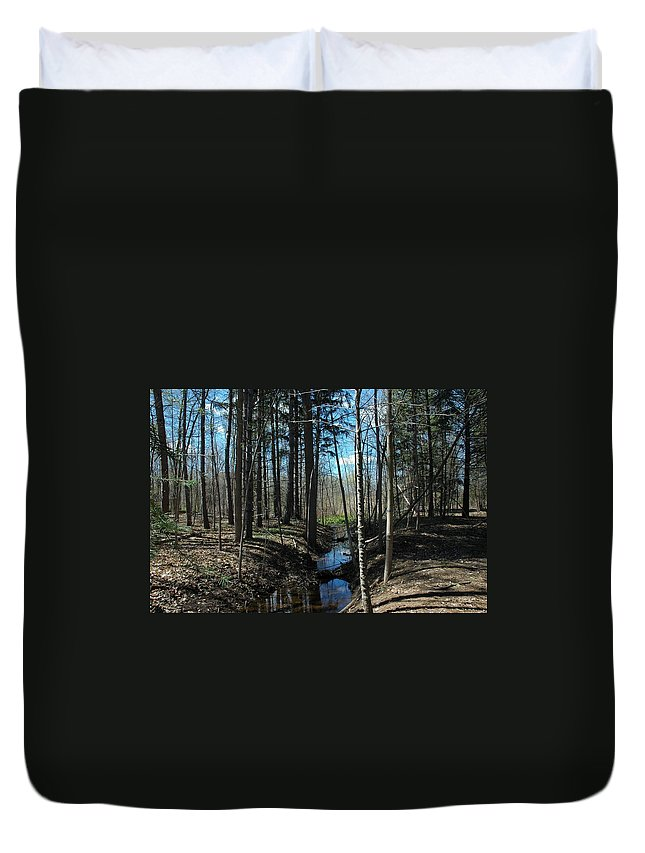 Usa Duvet Cover featuring the photograph Where The White Tail Deer Run by LeeAnn McLaneGoetz McLaneGoetzStudioLLCcom