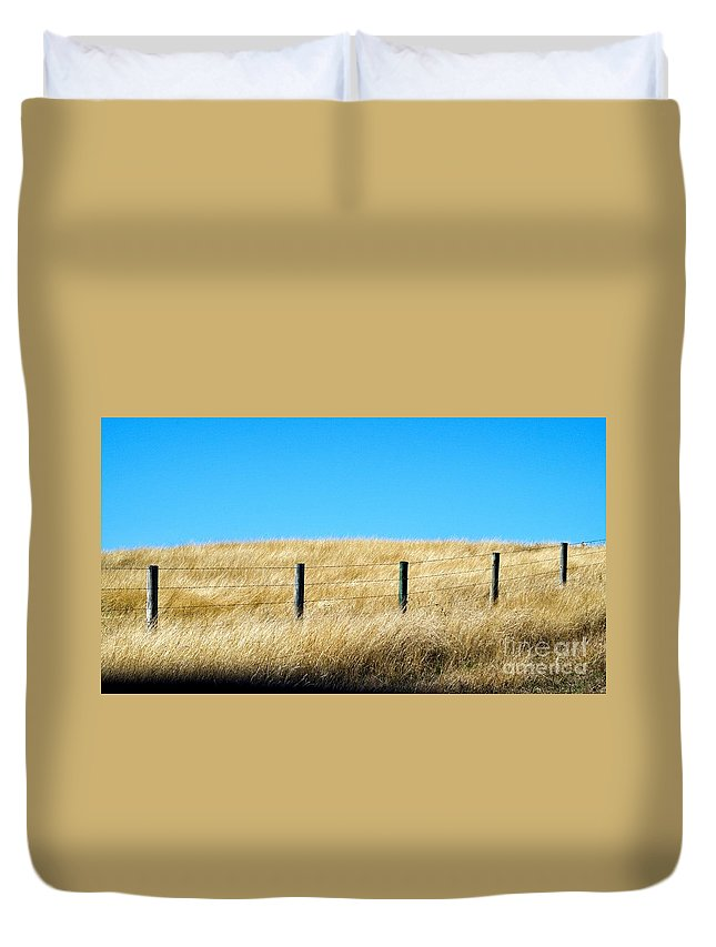 Autumn Duvet Cover featuring the photograph Whispering Earth by Gary Richards