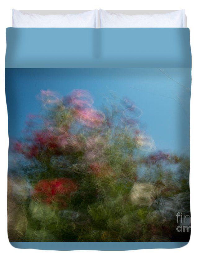 Spring Duvet Cover featuring the photograph Wild Flowers 1 by Aquadro Photography