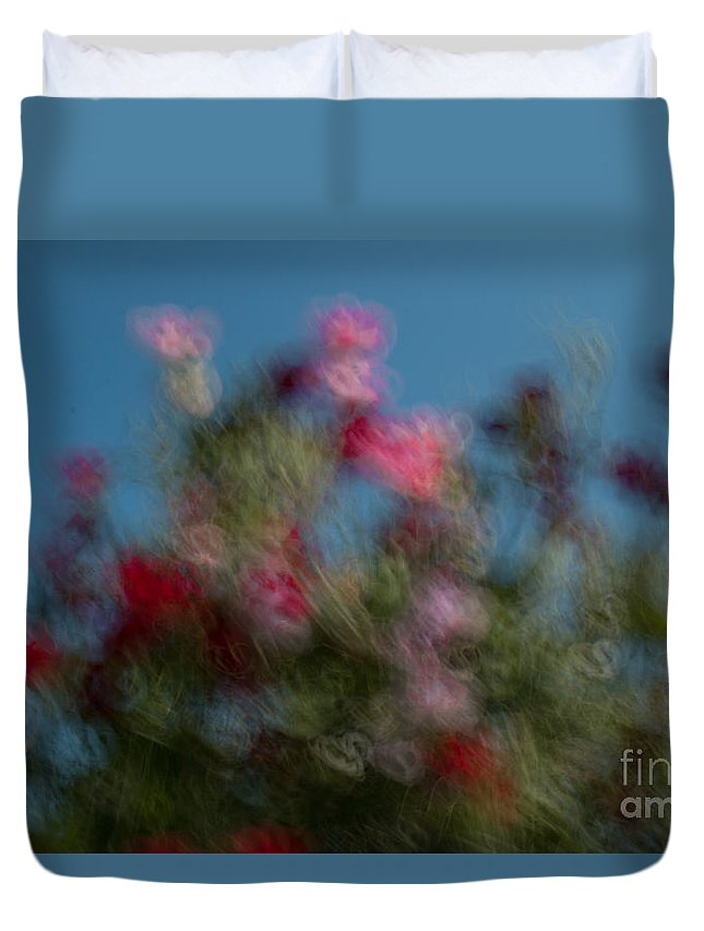 Flowers Duvet Cover featuring the photograph Wild Flowers 2 by Aquadro Photography