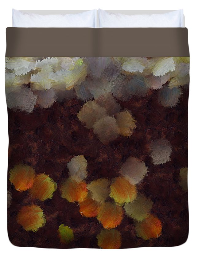 Abstract Duvet Cover featuring the photograph Wild Imagination by Ashish Agarwal
