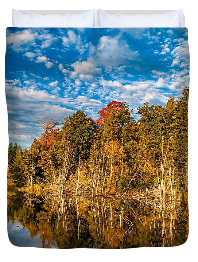 Steve Harrington Duvet Cover featuring the photograph Wilderness Pond by Steve Harrington