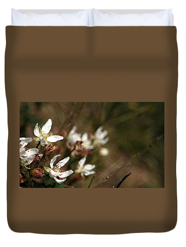Wildflowers Duvet Cover featuring the photograph Wildflowers by Marna Edwards Flavell