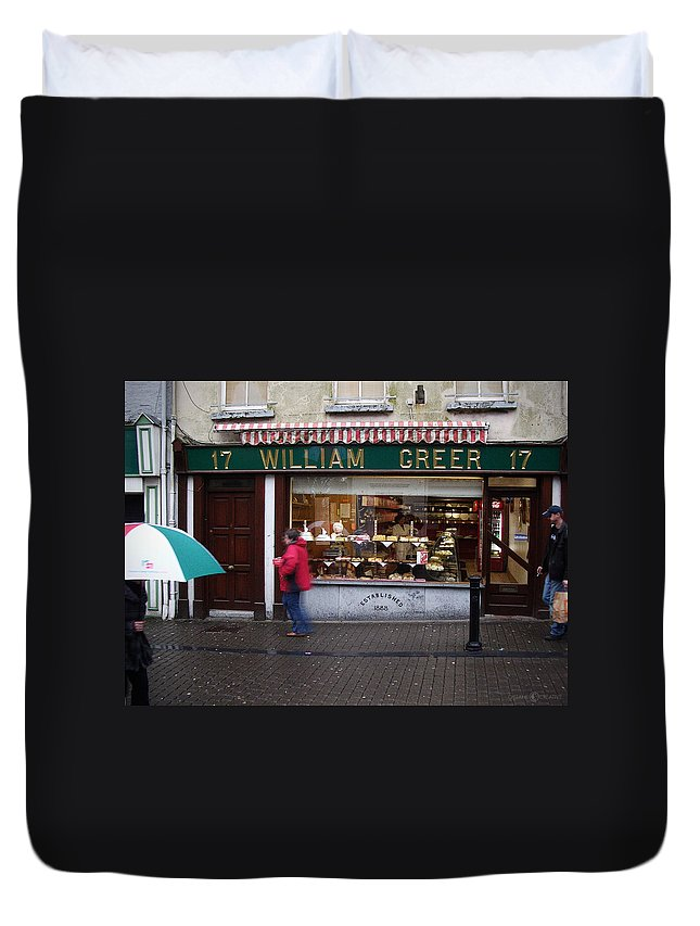 Ireland Duvet Cover featuring the photograph William Greer by Tim Nyberg