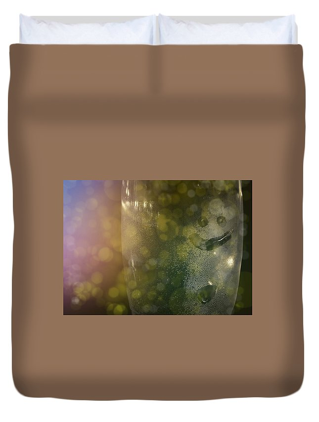 Champagne Duvet Cover featuring the photograph Wilson by JAMART Photography