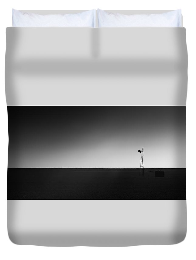Windmill Duvet Cover featuring the photograph Windmill by George Harris