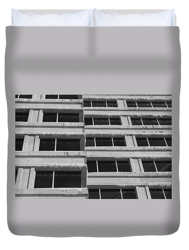 Window Duvet Cover featuring the photograph Window Cicles by Lauri Novak