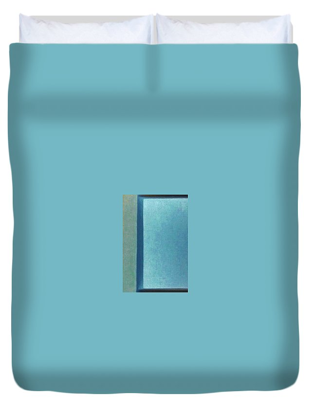 Window Of Light Duvet Cover featuring the photograph Window Of Light by Peggy Leyva Conley