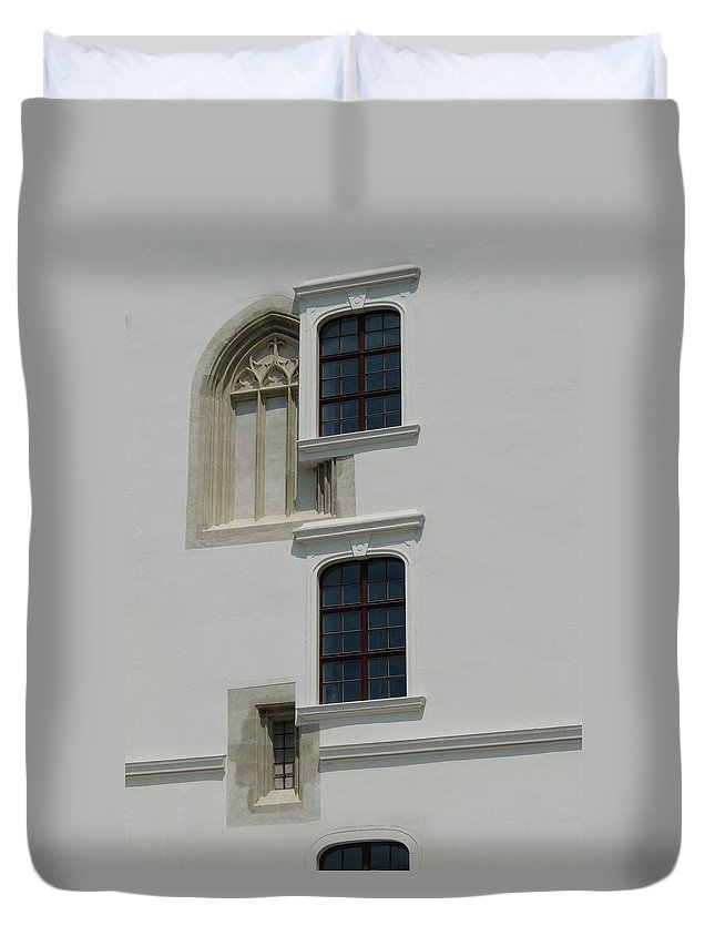 Window Duvet Cover featuring the photograph Windows Pick by Valerie Ornstein