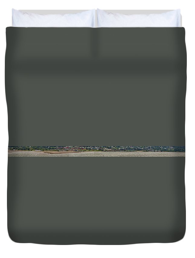 Duvet Cover featuring the photograph Windsurfing Capital by Joseph Broschart