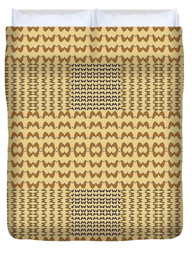 Wings Duvet Cover featuring the digital art Wings by Iara Falcao Lindback
