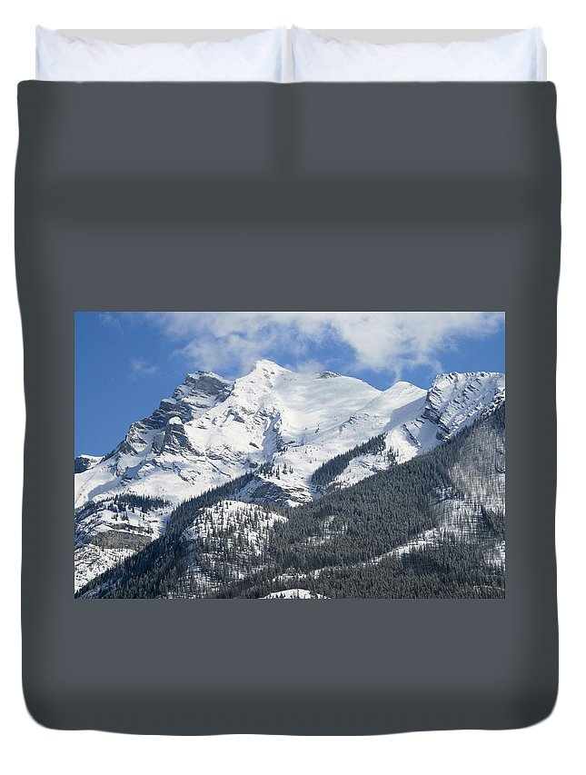 Winter Duvet Cover featuring the photograph Winter Wonderland by Tiffany Vest