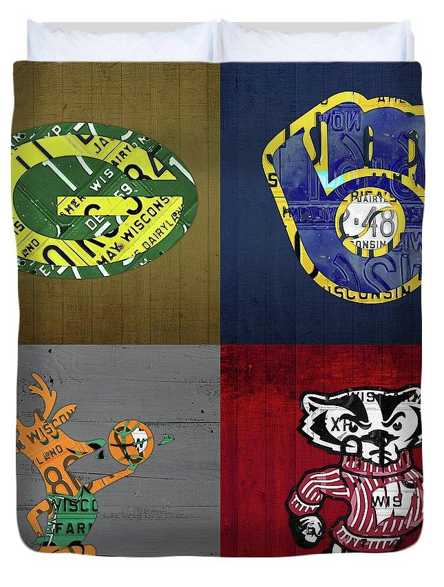 Wisconsin Duvet Covers