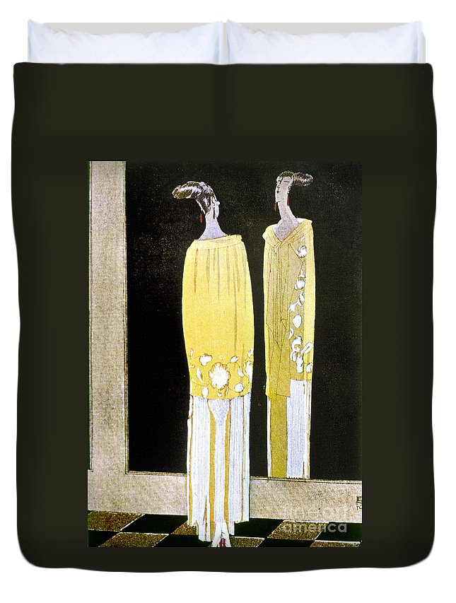 1920s Duvet Cover featuring the photograph Womens Fashion, 1920s by Granger