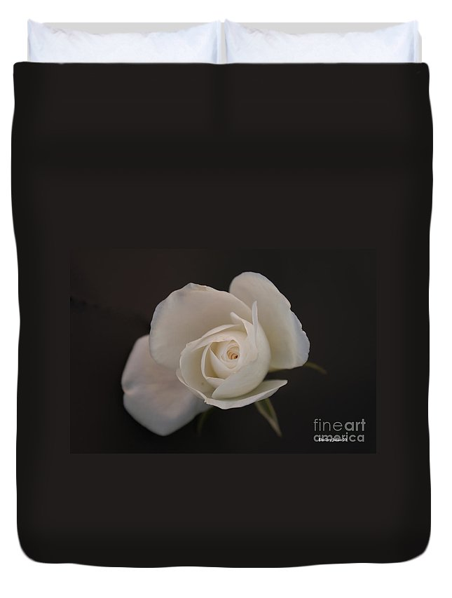 Rose Duvet Cover featuring the photograph Wonder by Shelley Jones