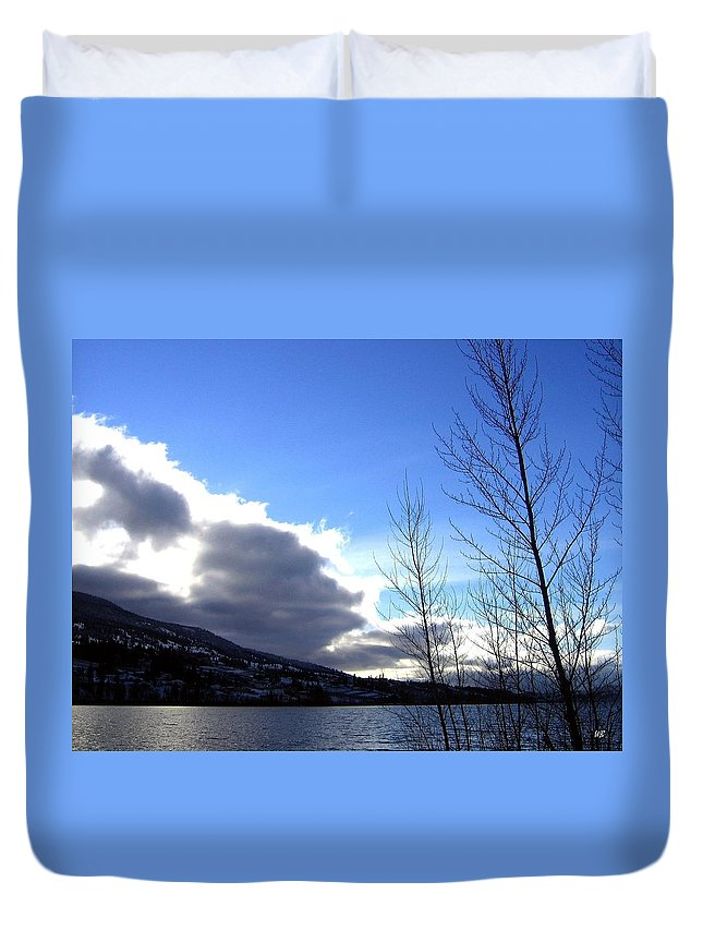Sunrise Duvet Cover featuring the photograph Wood Lake Sunrise by Will Borden