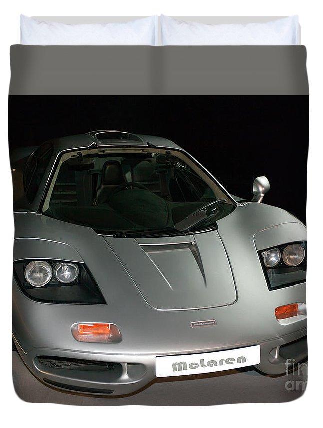 xp3 prototype mclaren f1 road car duvet cover for salejohn gaffen