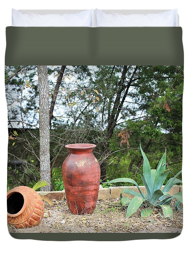 Duvet Cover featuring the photograph Ya025 by Jeff Downs