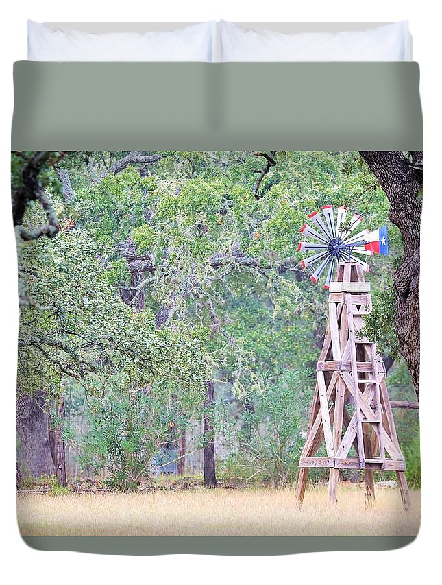 Duvet Cover featuring the photograph Ya035 by Jeff Downs