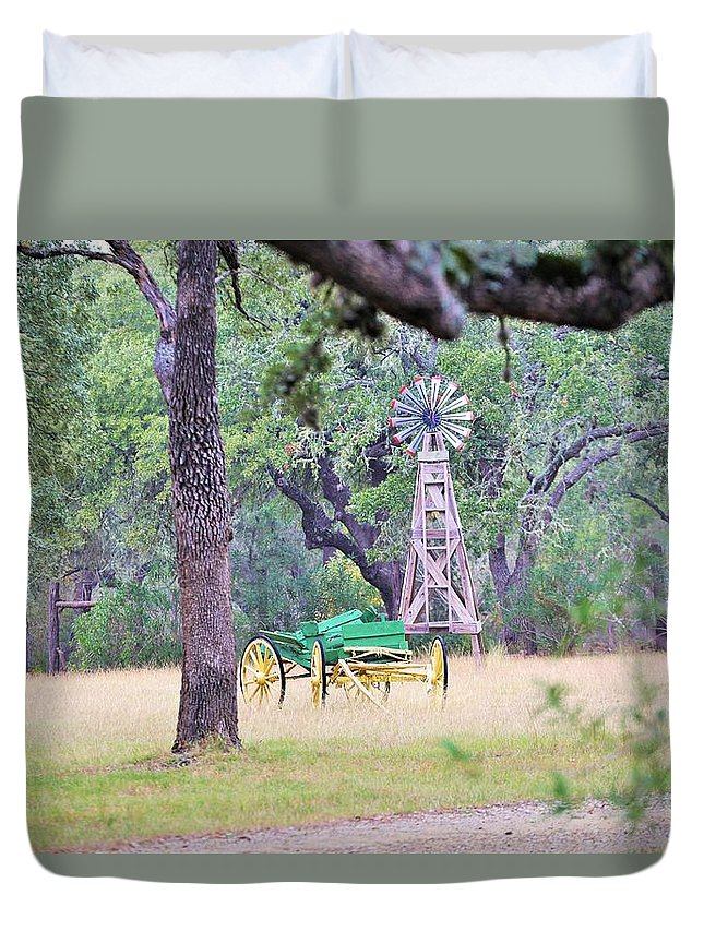 Duvet Cover featuring the photograph Ya038 by Jeff Downs