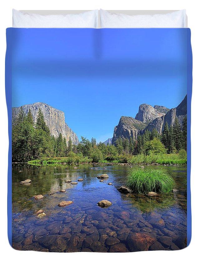 Yosemite Duvet Cover featuring the photograph Yosemite Valley, California by Jon Jones