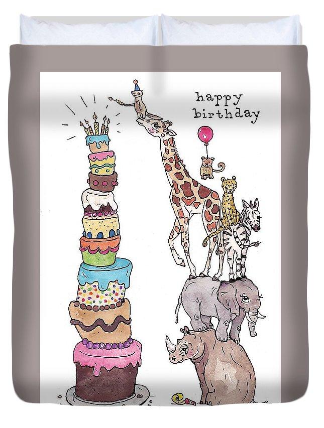 happy birthday duvet covers fine art america