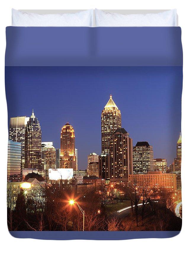 Atlanta Duvet Cover featuring the photograph Atlanta, Georgia by Jumper