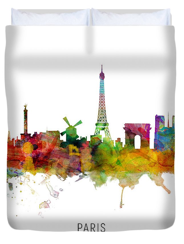 Paris Skyline Duvet Covers