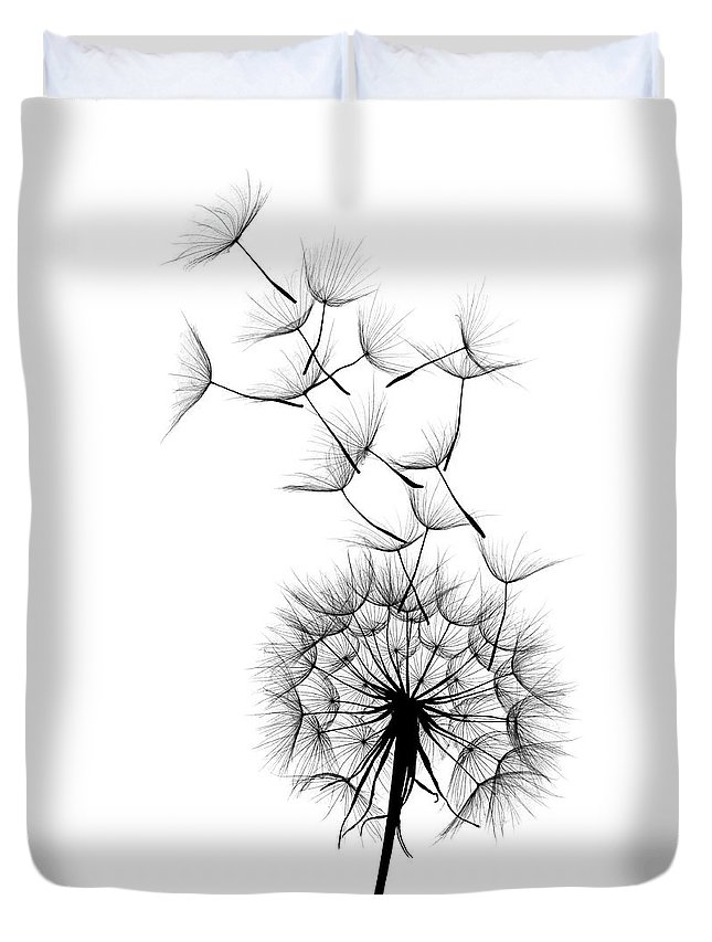 Wind Duvet Cover featuring the photograph Dandelion by Sunnybeach
