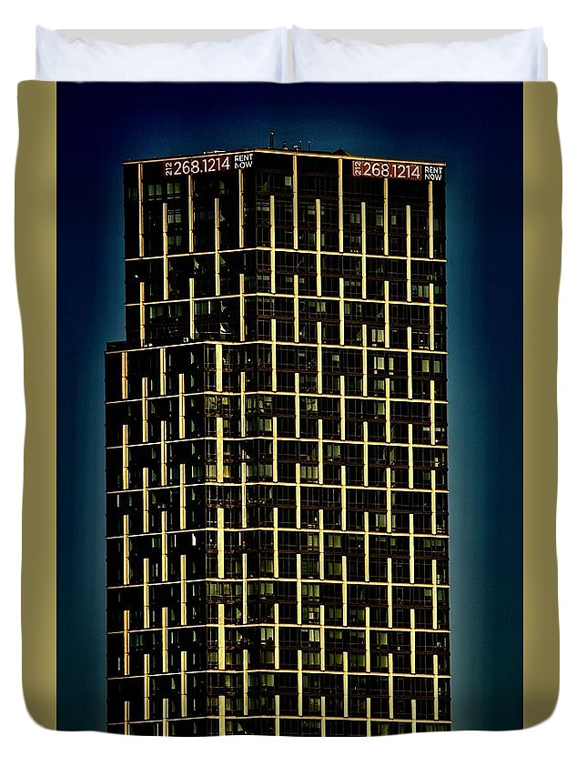 Building Duvet Cover featuring the photograph 212 by Gillis Cone