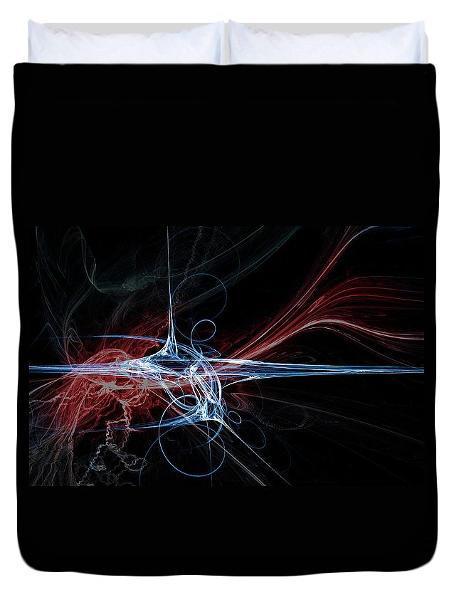 Curve Duvet Cover featuring the digital art Energy by Duncan1890