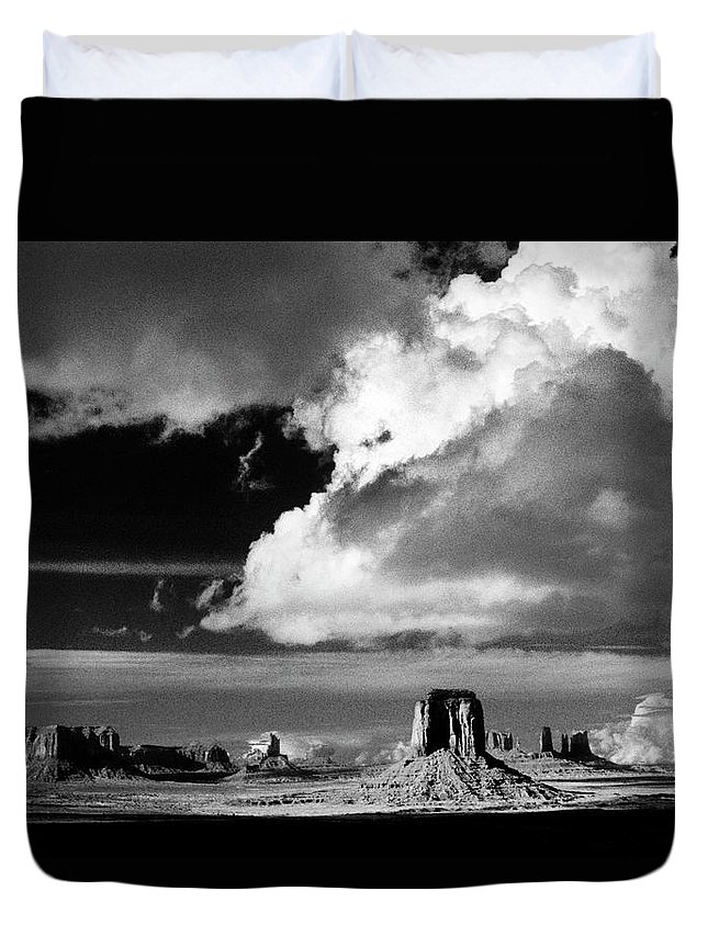 F3-a-0130-b Duvet Cover featuring the photograph After A Spring Time Storm by Paul W Faust - Impressions of Light
