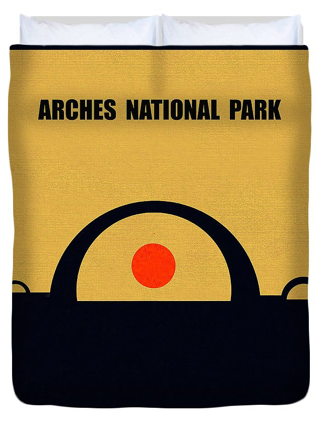 Natural Arch Mixed Media Duvet Covers