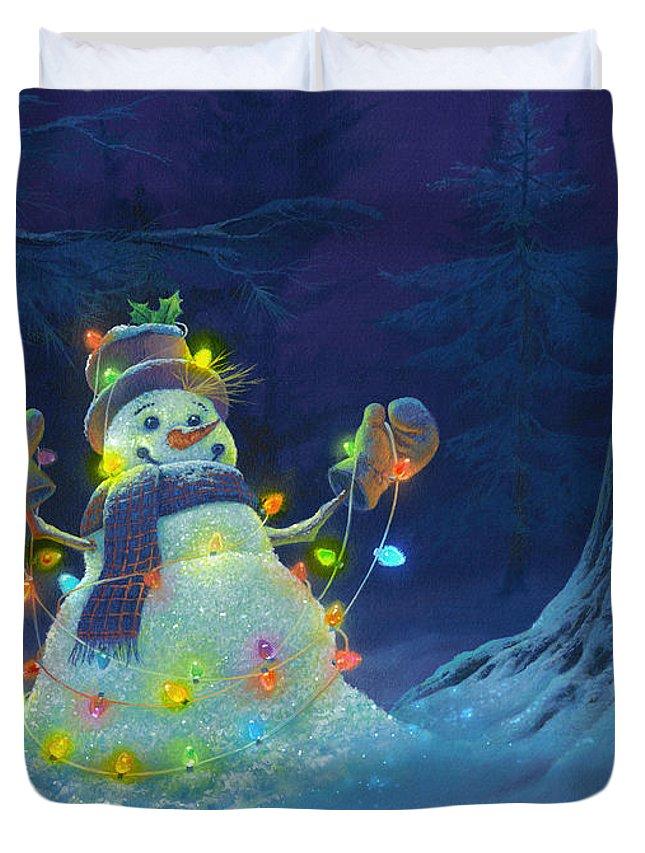 Christmas Lights Duvet Covers