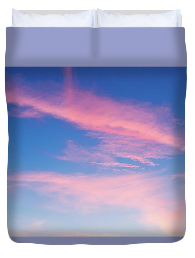 Concepts & Topics Duvet Cover featuring the photograph Beautiful Colorful Sunset by Maodesign