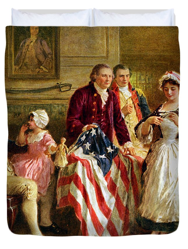 Historian Paintings Duvet Covers