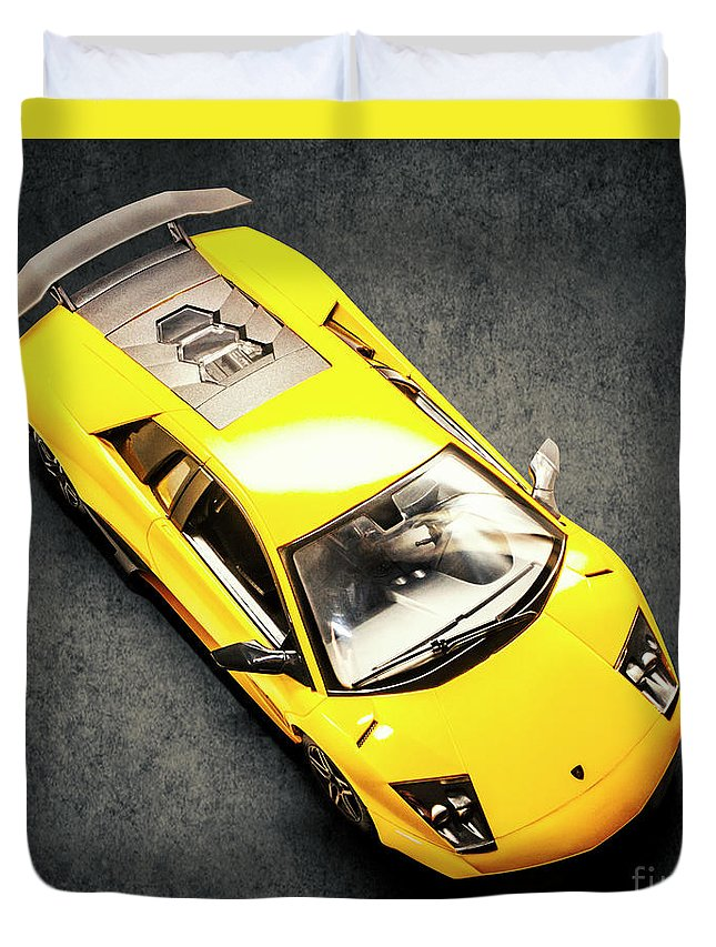 Car Duvet Cover featuring the photograph Boys Toys by Jorgo Photography - Wall Art Gallery