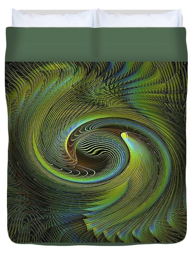 Celtic Duvet Cover featuring the digital art Celtic Life Force by Michael Durst