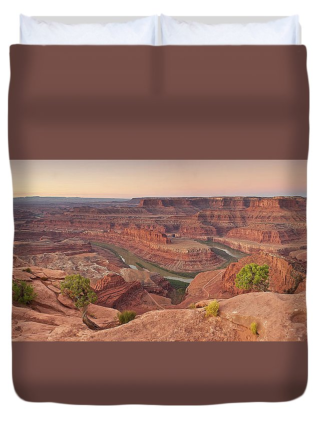Scenics Duvet Cover featuring the photograph Dead Horse Point State Park, Utah by Enrique R. Aguirre Aves